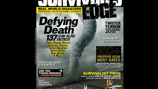 SURVIVOR'S EDGE Fall 2014 cover