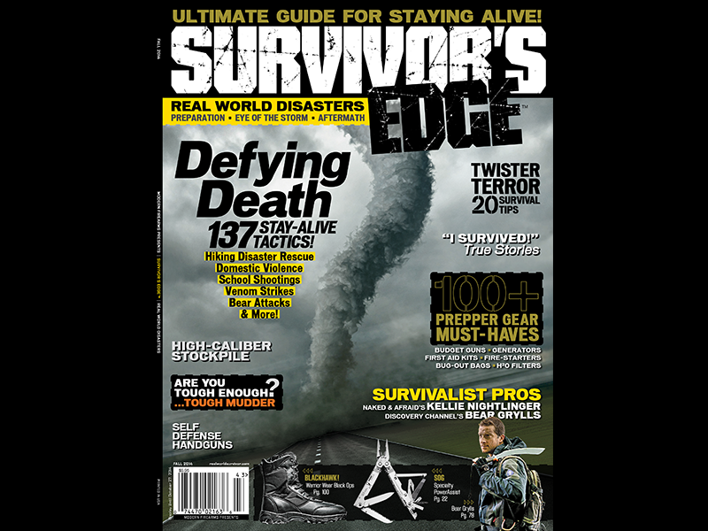 SURVIVOR'S EDGE Fall 2014 cover