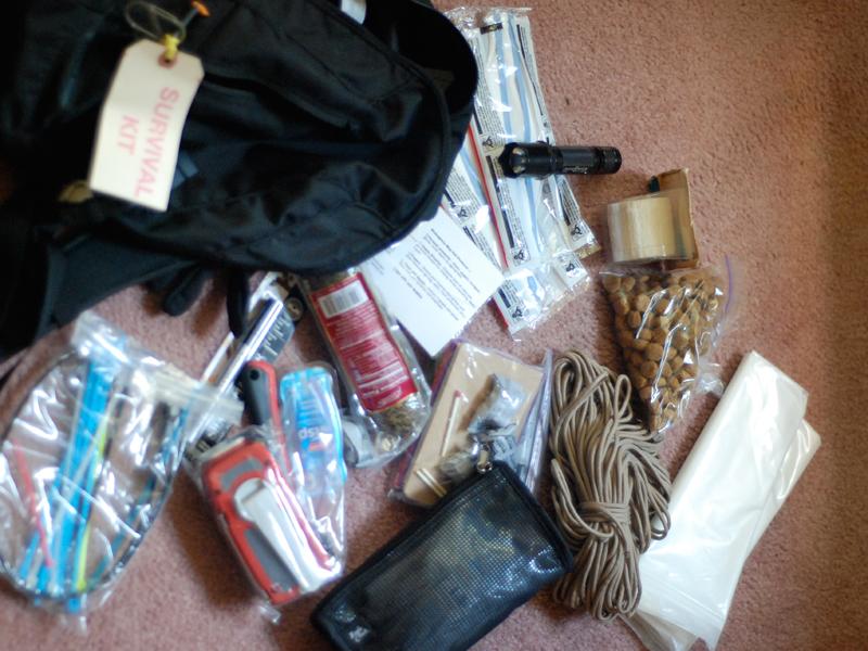 Flood preparation Emergency Kit