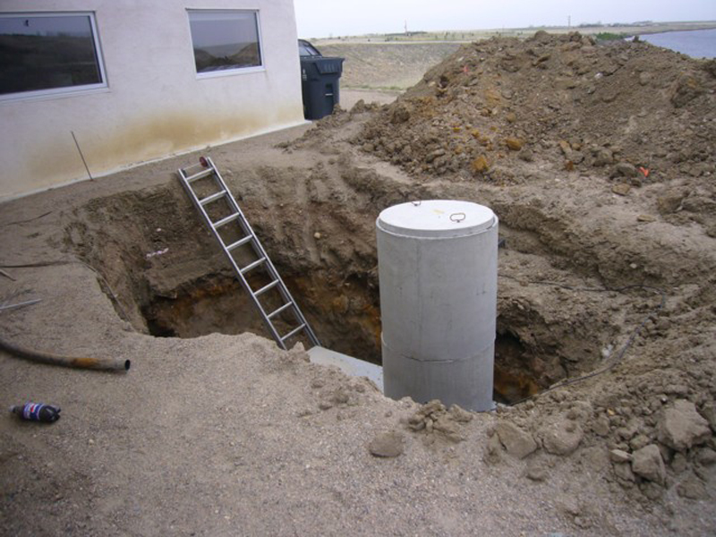 Flood preparation Underground Tanks