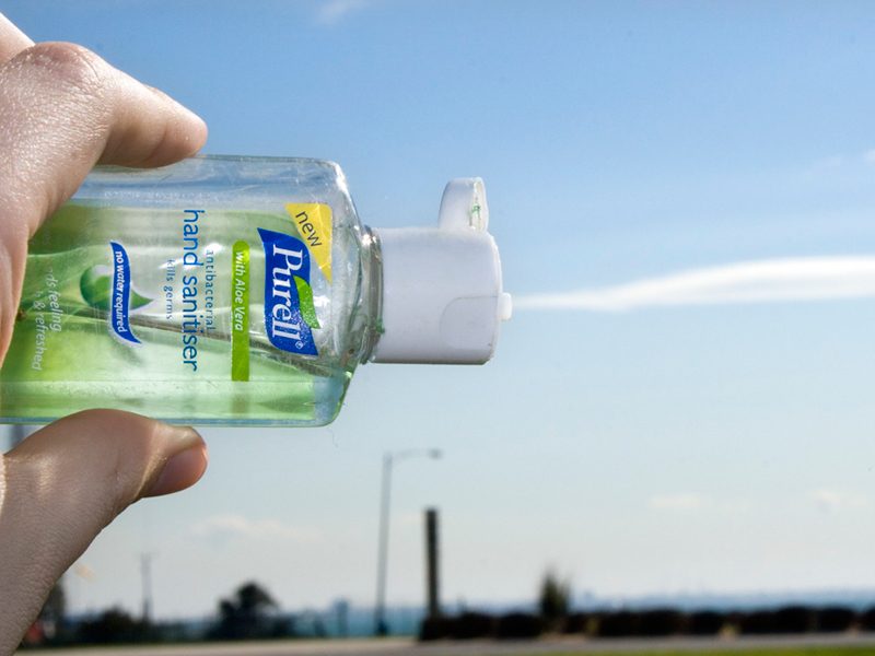 31 Vehicle Bug-Out Bag Hand Sanitizer