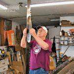 Crosscut saw sharpening