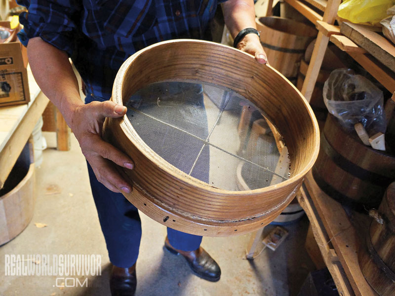 Bentwood Sifter