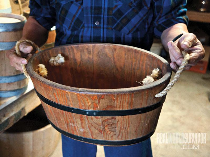 Fishmonger's bucket