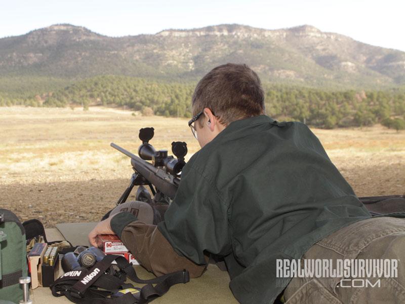 long-range shooting