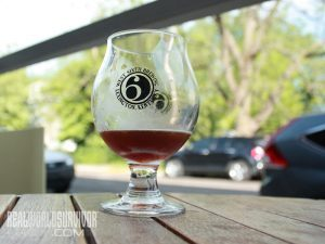 West Sixth Unfiltered Beer