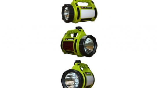 Emergency Power Center Flashlight