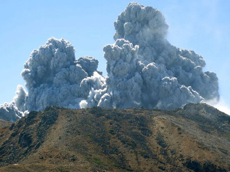 Mount Ontake volcanic eruption
