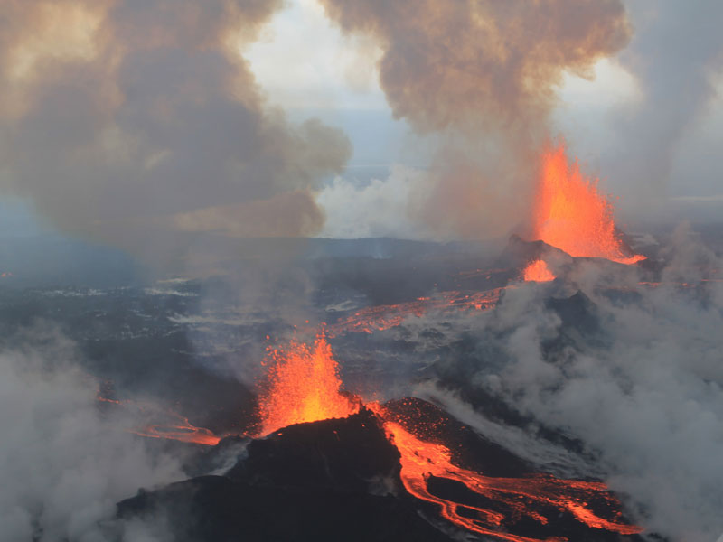 Bardarbunga volcano eruption