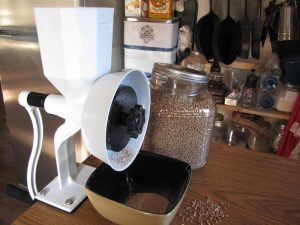 The Wonder Junior Deluxe Flour Mill