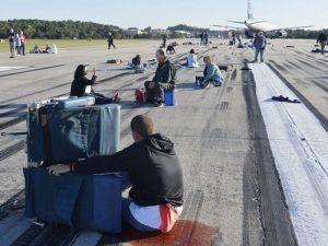 airport disaster simulation