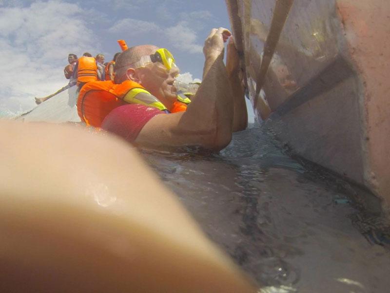 Shipwreck van Haneghem Indonesia