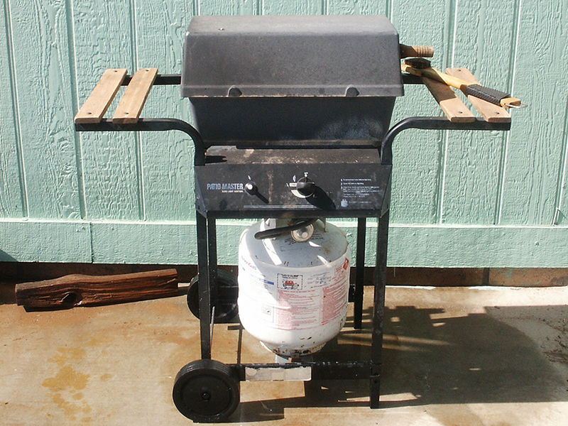 Aftermath supply checklist propane grill