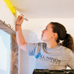 All Hands Volunteers SEDGE winter 2015 paint