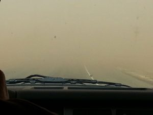 SEDGE winter 2015 dust storm