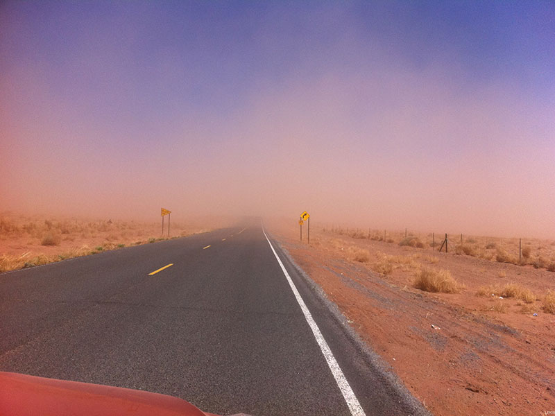 SEDGE winter 2015 dust storm 5