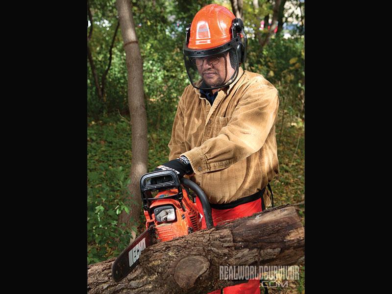 Firewood Cutting Safety