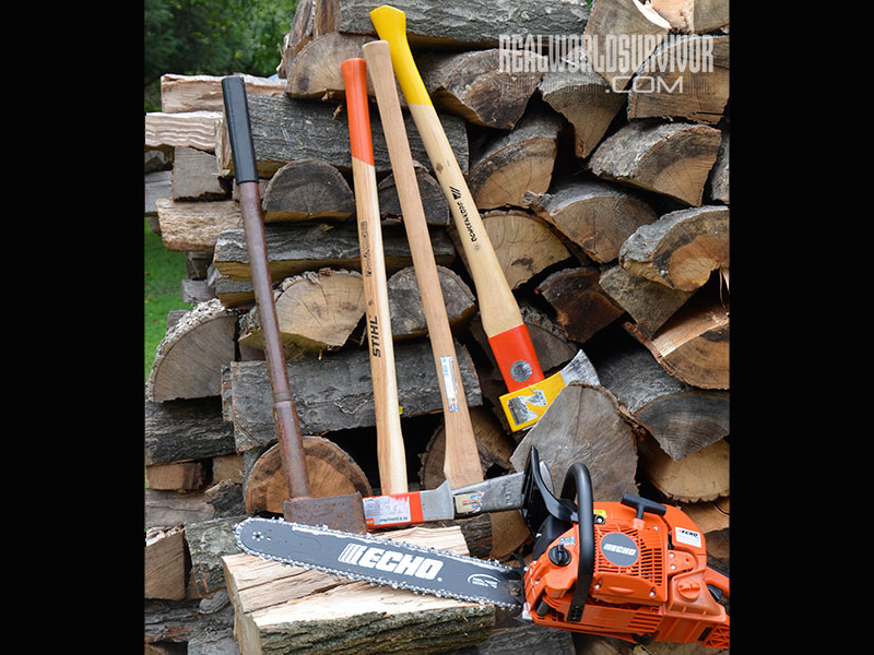 buying a used saw Firewood business chopping tools