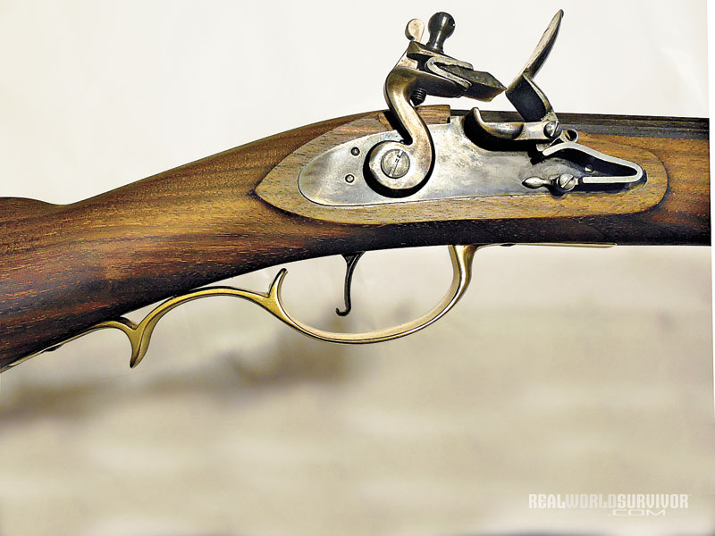 kentucky rifle, kentucky flintlock rifle, pedersoli kentucky rifle, dixie gun works kentucky rifle