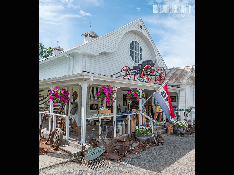 Butte Creek Mill Antique store