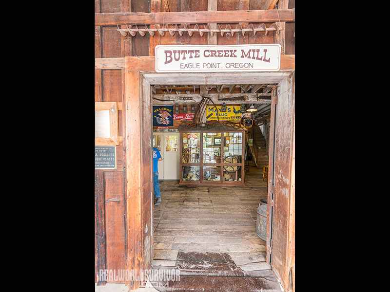 Entrance to Butte Creek Mill