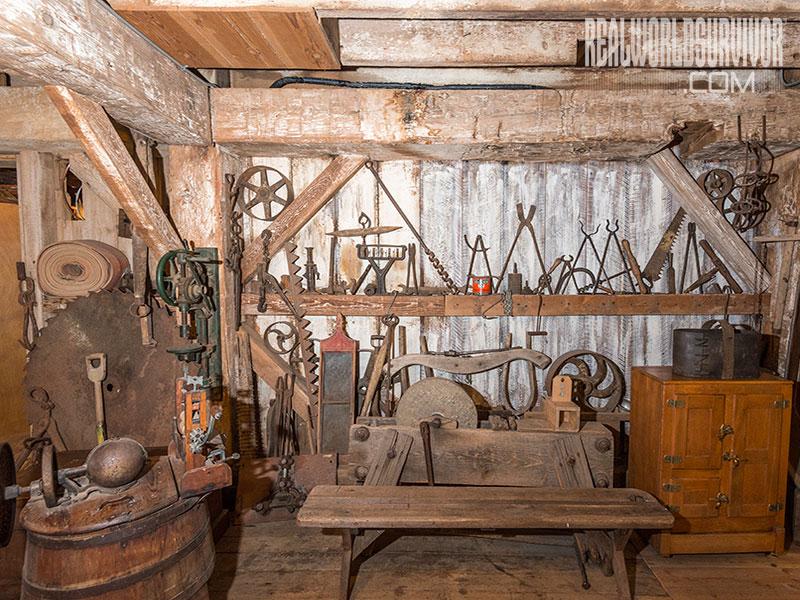 Butte Creek Mill Basement