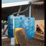 rain catchment barrels irragation
