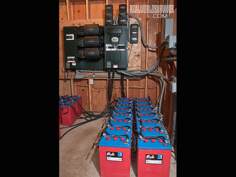 Three-Inverter off-grid System
