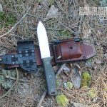 fixed blade knife for backwoods camp