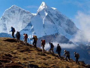 Mountain Climbing safety Leave No Trace