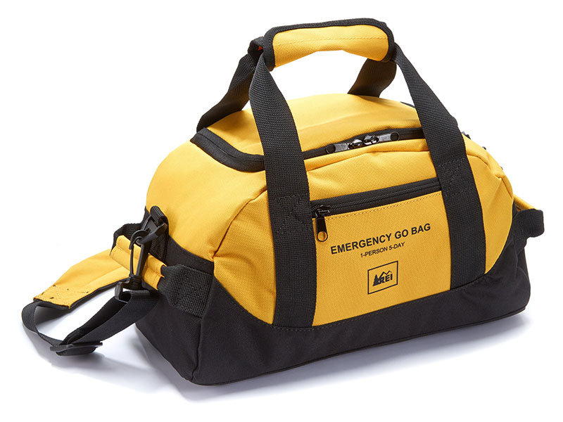 REI Emergency Go Bag solo