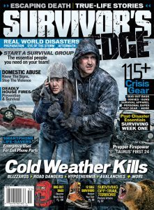 Survivor's Edge spring 2015 mag cover
