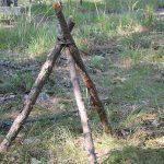 campfire tripod complete