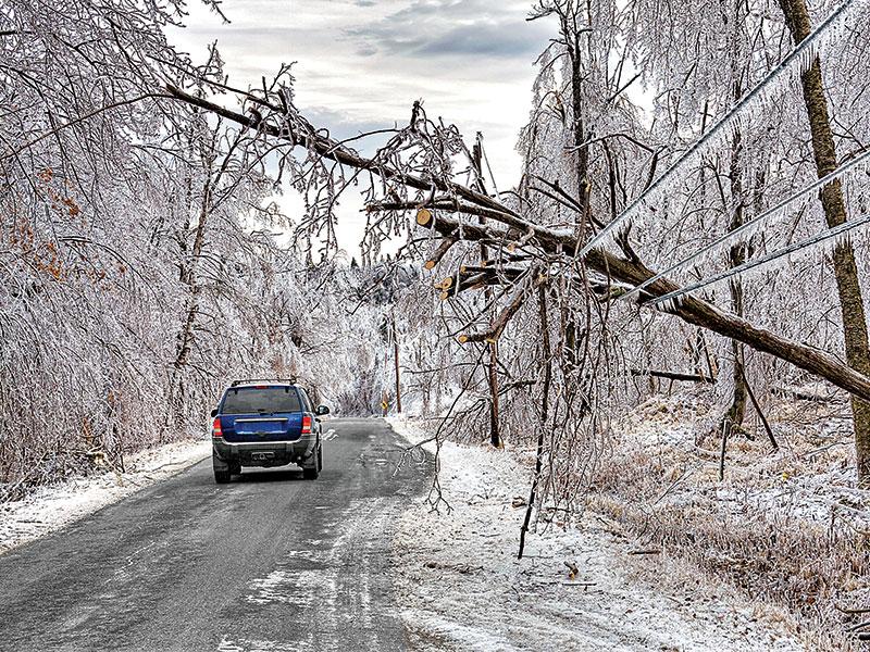 Winter's Fury SEDGE spring 2015 ice hazards