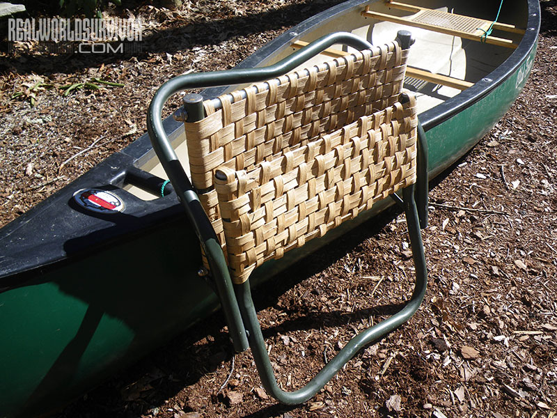 DIY folding camp chair
