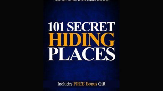 101 secret hiding places George shepherd