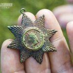 Metal Pendant articfact