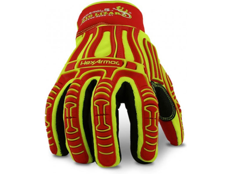 HexArnor Rig Lizard Arctic 2023 gloves