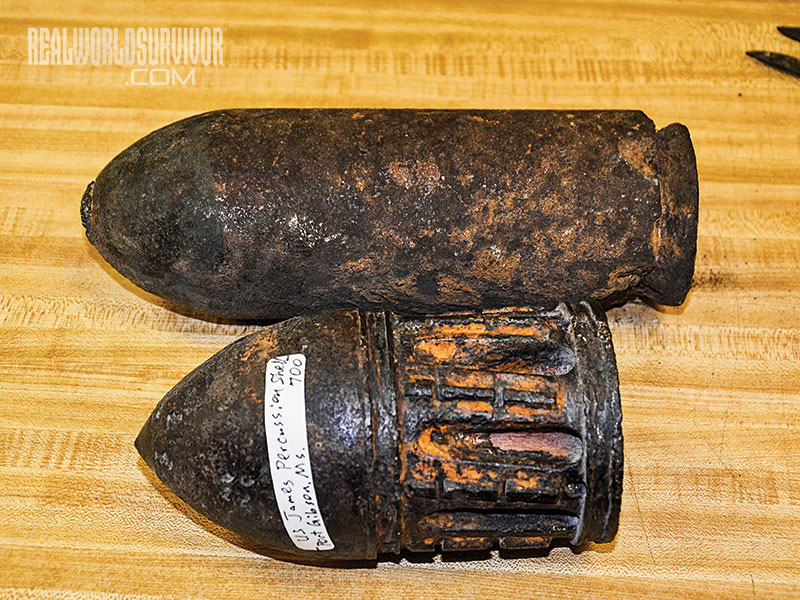 Mortar Shell artifact