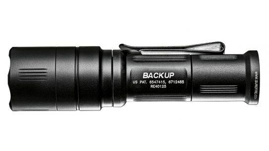 SureFire survival flashlight EB1 Backup