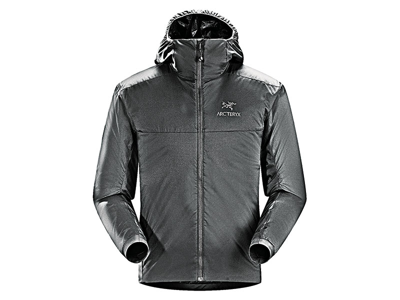 cold weather clothing Arc'teryx Atom LT Hoody