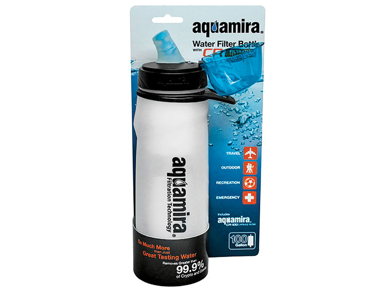Aquamire Water Bottle portable water filter