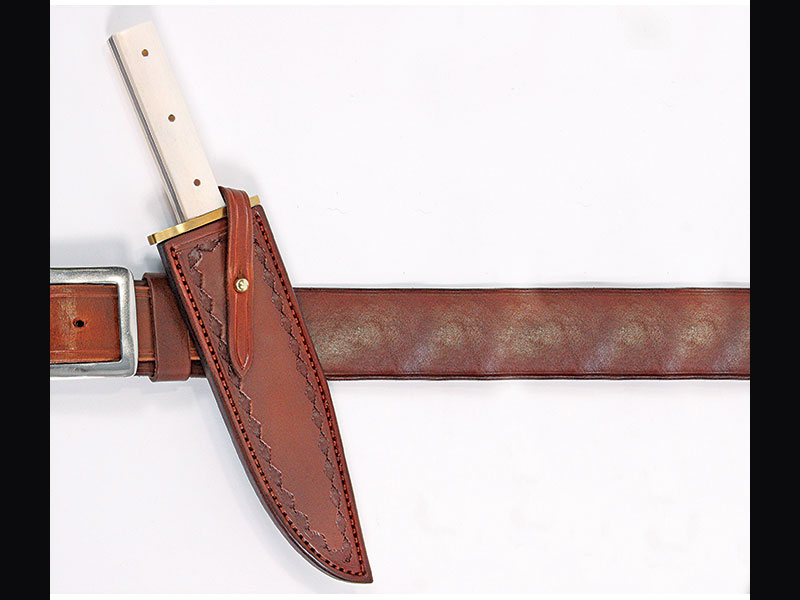 The History Behind Handcrafted Leather Knife Scabbards And Sheaths
