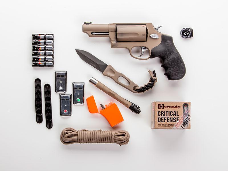 The Taurus First 24 kit supplie