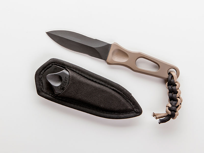 Taurus First 24 Kit Columbia River Knife & Tool (CRKT) Sting fixed-blade survival knife.