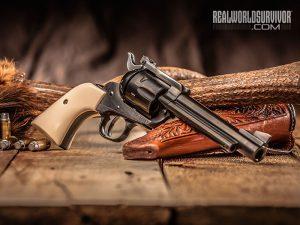 .357 Magnum Revolver Wheelgun