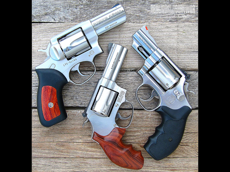 .357 Magnum revolver barrel length