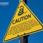 Rattlesnake sign