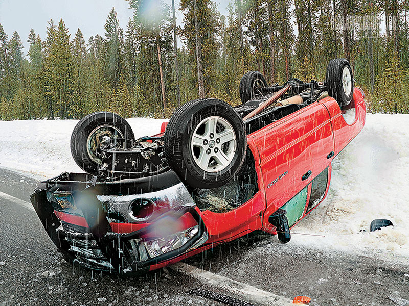 Slick roads winter driving safety tips
