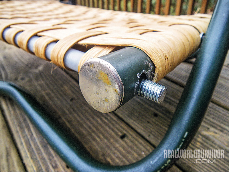 DIY canoe camp chair